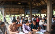 Lao Mahout Associations meet at ElefantAsia vocational Center